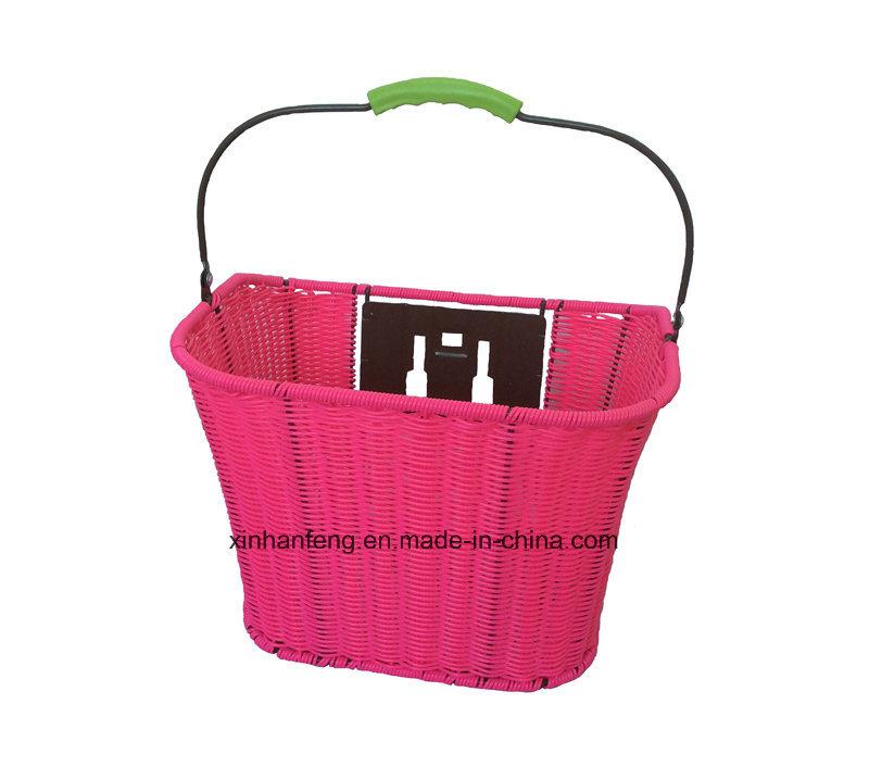High Quality Hot Sale Rattan Bicycle Basket for Bike (HBG-145)