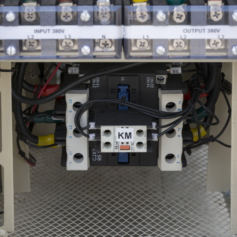 Three Phase Voltage Stabilizer for Elevator Specific 50 kVA