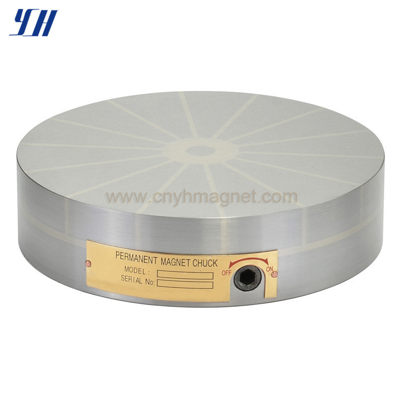 Radial Pole Round Permanent Magnetic Chuck for Turning