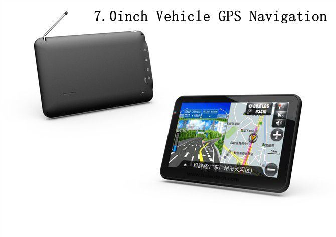 7.0inch Car Wince 6.0 GPS Navigation with ISDB-T TV, 8GB Flash