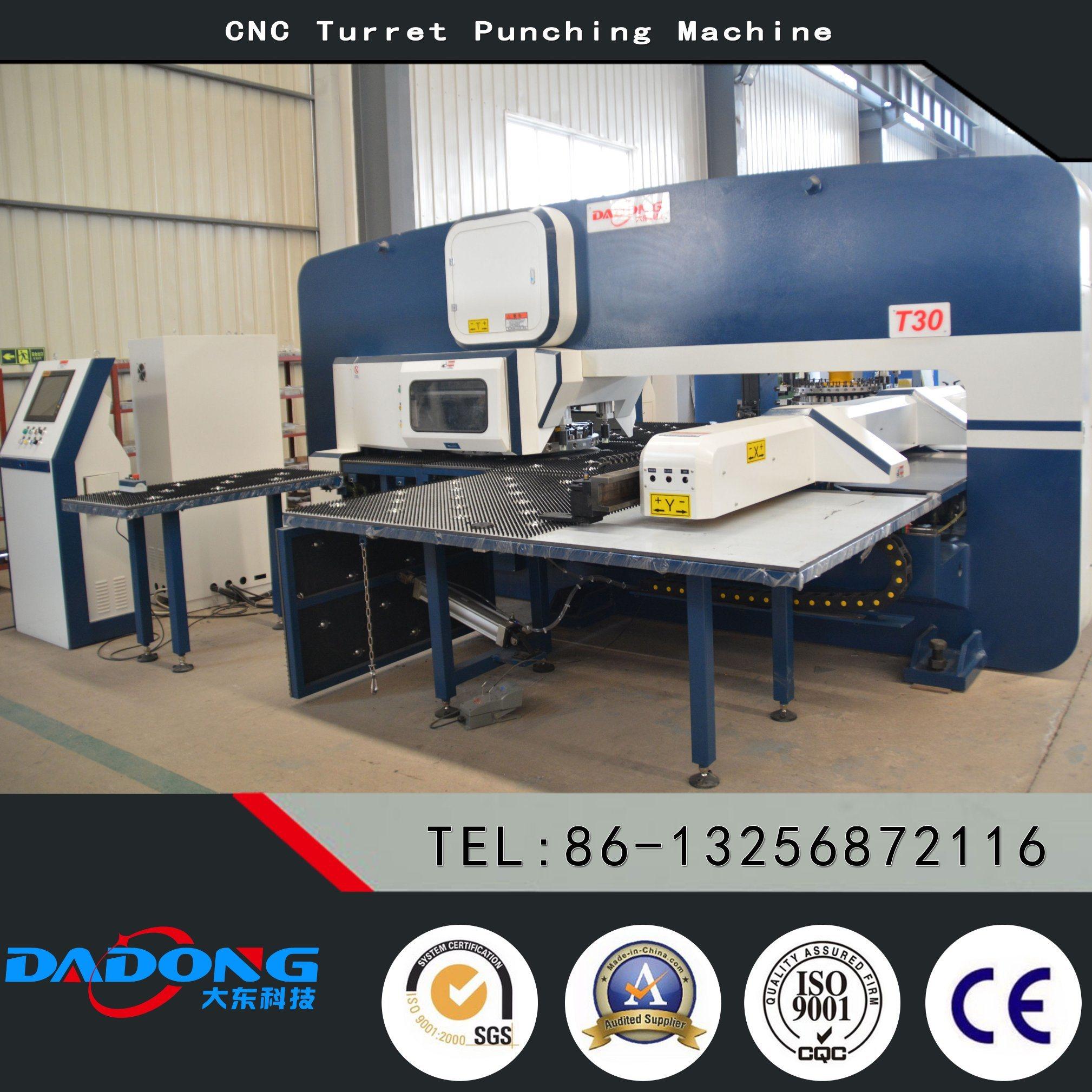 D-T30 Siemens/Fanuc System CNC Turret Punching Machine/Punch Press