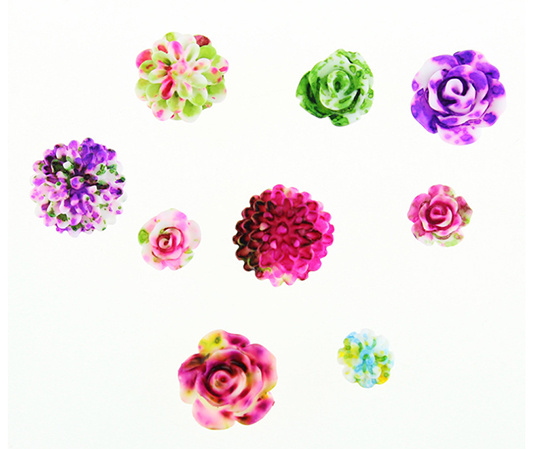 Nail Art, Nail Beauty, Nail Accessories, Nail Deco, Resin Nail Flower