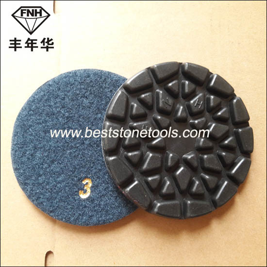 Cr-28 Fnh Floor Polishing Pad for Stone Concrete