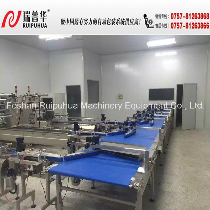 Chocolate Bar Automatic Feeding and Package Machine