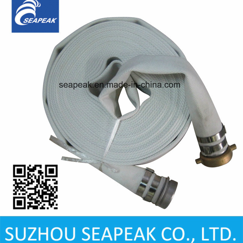 Fire Hose with Pin Lug Coupling