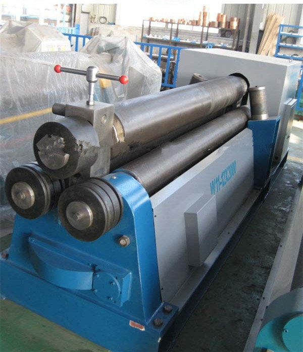 W11 30X3200 Metal Sheet Steel Plat Mechanical 3-Roller Symmertical Rolling Machine