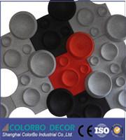 Polyester Fiber Acoustic Panels/Shaped Polyester Fiber Pet Sound Insulation