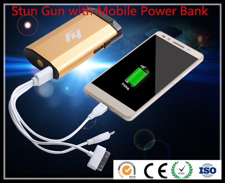 Stun Gun with Mobile Power Bank / Self Defensive