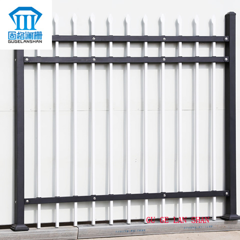 Rust-Proof/Antiseptic/High Quality Security Steel Fencing for Garden