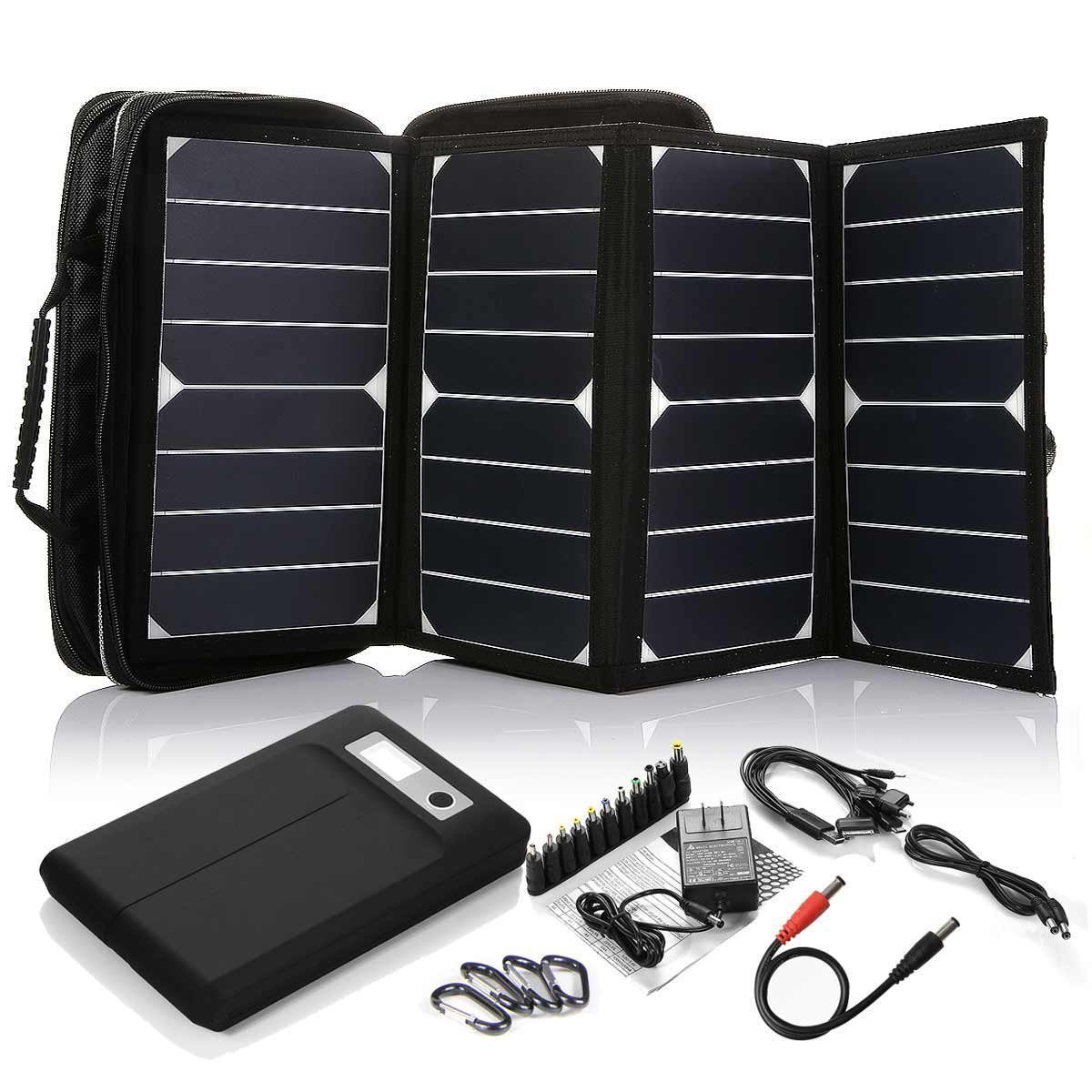 Emergency Solar Charger for Mobile Phone and Laptop