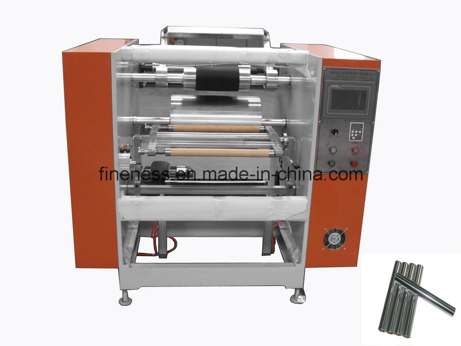 Aluminum Foil Rewinding and Slitting Machine