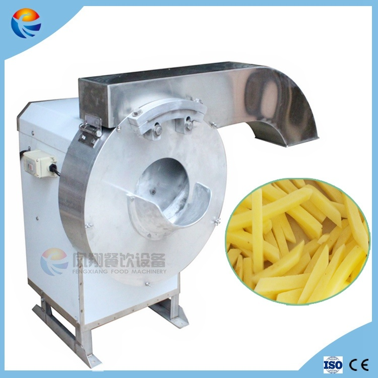 Industrial Automatic Cassava French Fries Potato Chips Cutting Chopping Making Machine
