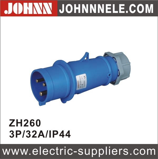 IP44 3p 32A Surface Mounted Socket for Industrial