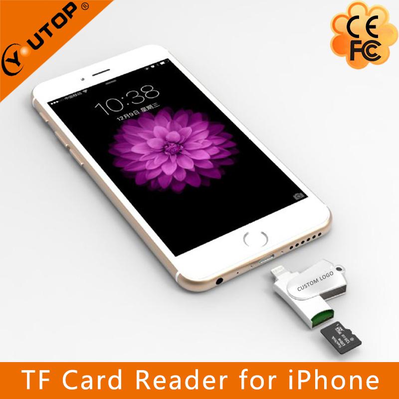 Microsd Card Reader OTG Lightning USB Flash Drive for iPhone (YT-R005)