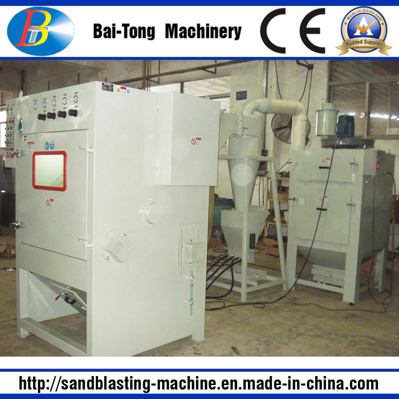Tumblast Rubber Belt Type Auto Sandblasting Machine