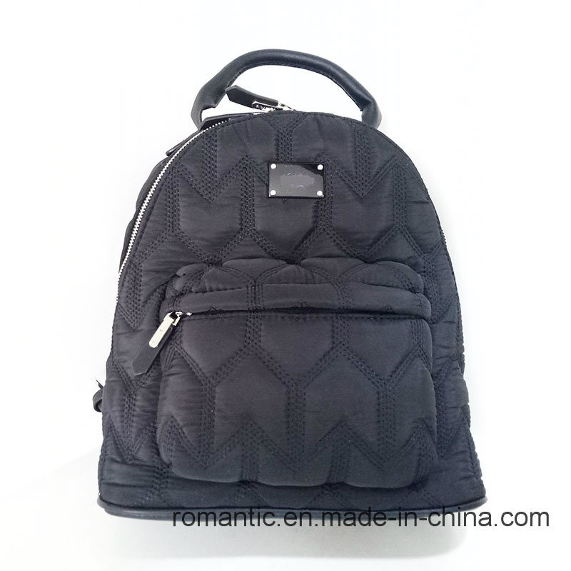 Brand Designer Lady Nylon Backpack Women Traveling Bag (NMDK-040602)