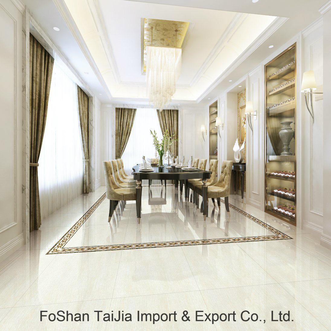 Full Polished Glazed 600X600mm Porcelain Floor Tile (TJ64019)