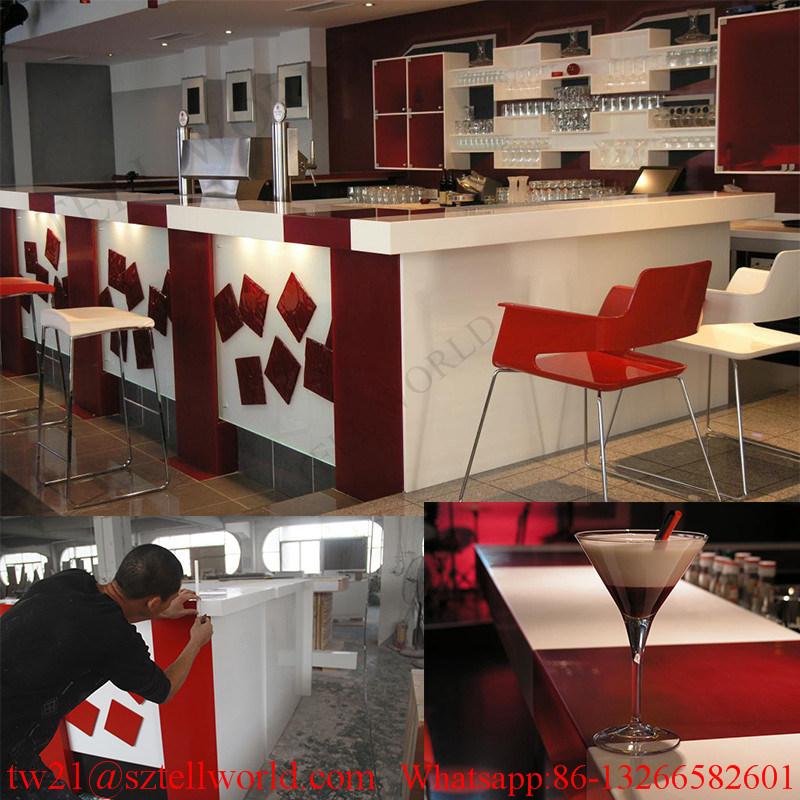 restorant bar buffet china contemporary led fashion factory buffet bar counter