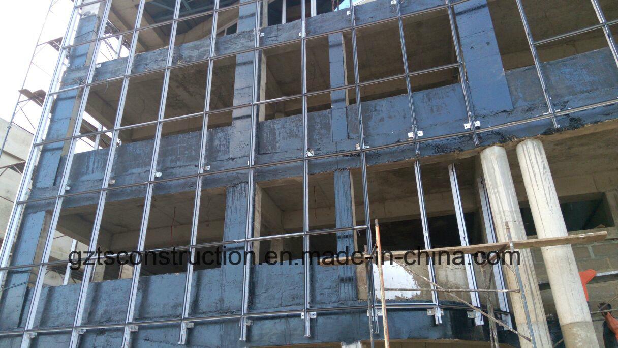Glass Aluminum Curtain Wall Supplier for Africa