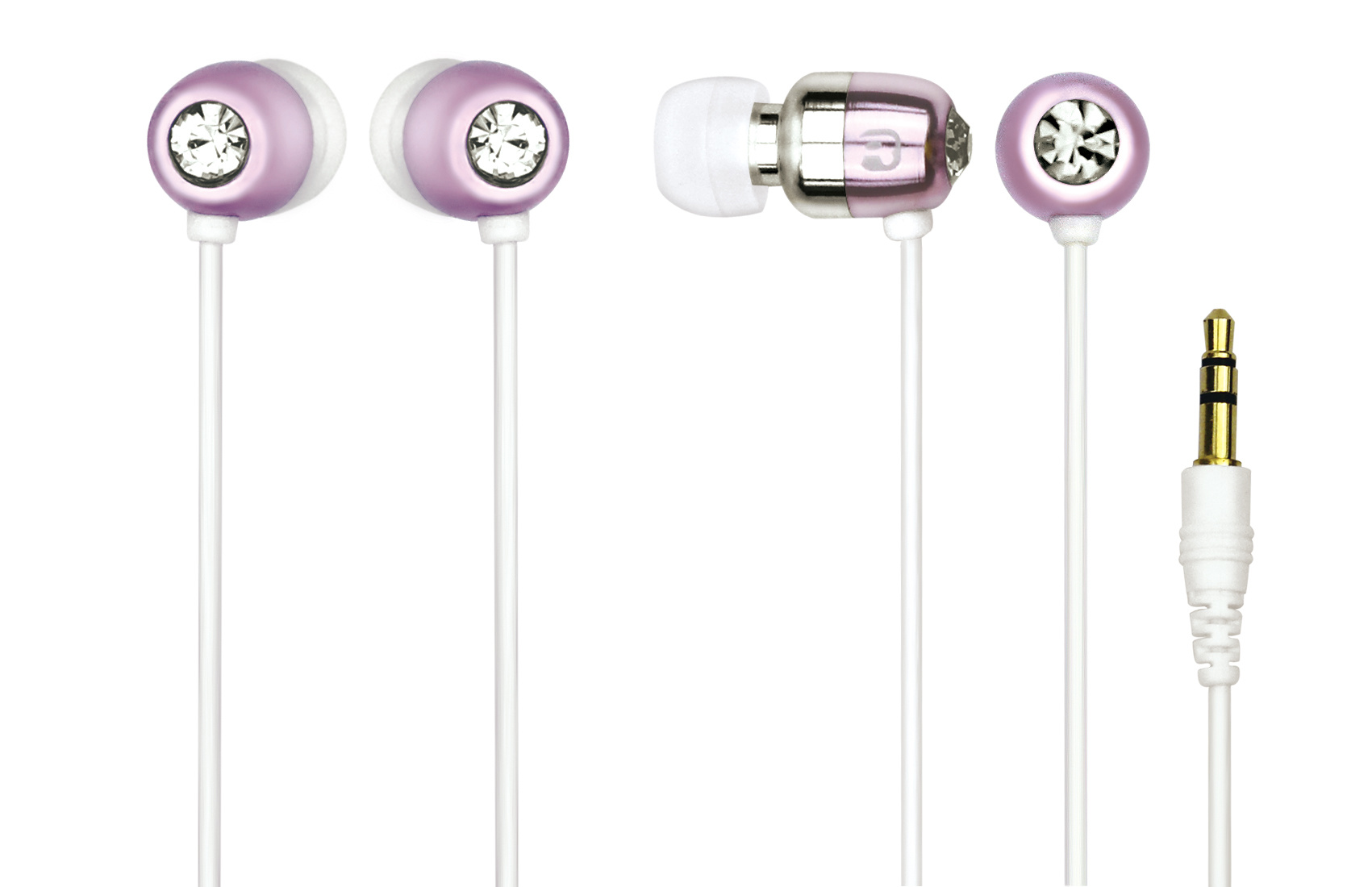 Earphone 3.5mm in-Ear Stereo Earbuds Earphone Without Mic