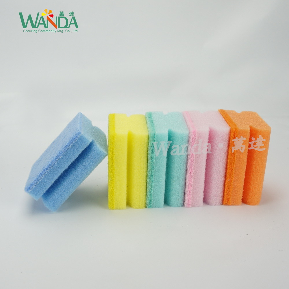 Powerful High Density Cleaning Sponge Sponge Scourer for Household Cleaning