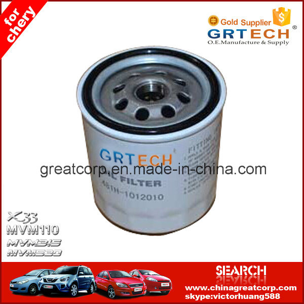 481h-1012010 Auto Filter Parts Oil Filter for Chery