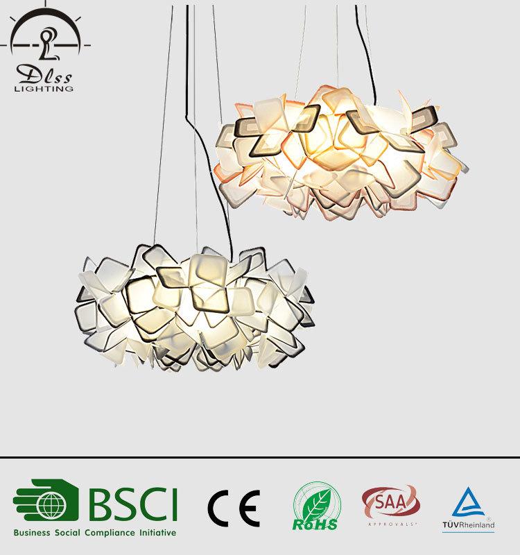 Modern Plastic Decoration Pendant Lamp for Wholesale Lighting
