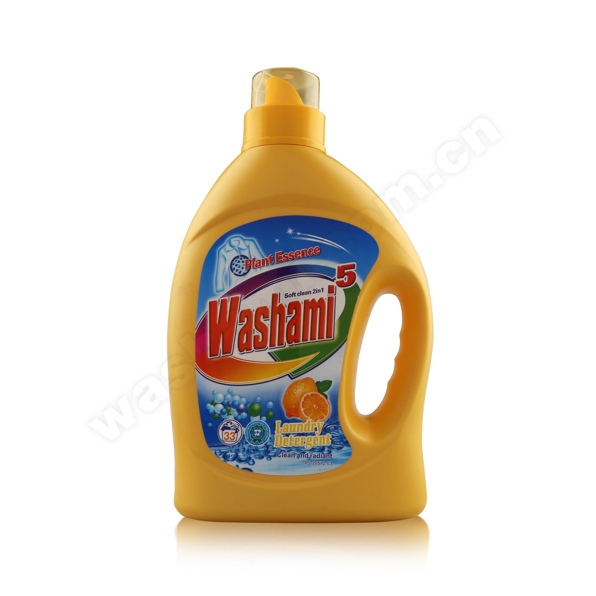 Washami Laundry Detergent Lasting Fragrant 2in1