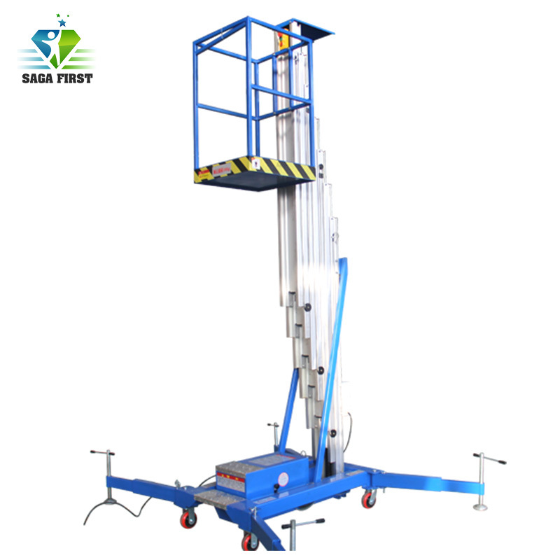 14m Light Weight Mobile Aerial Mast Work...