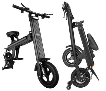 Mountain Bicycle Electric Folding Bike with Panasonic Lithium-Ion Battery