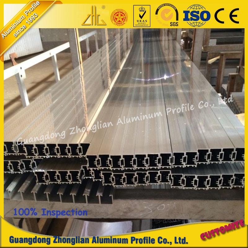 Customized Aluminium Extrusion Profile Handrail for Balcony in Construction