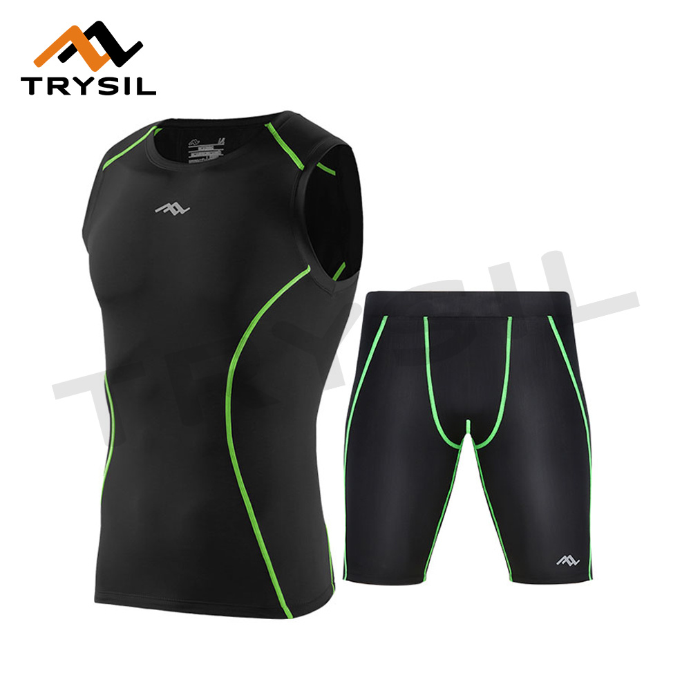 Men′s Summer Sportswear Tank Top with Shorts for Gym