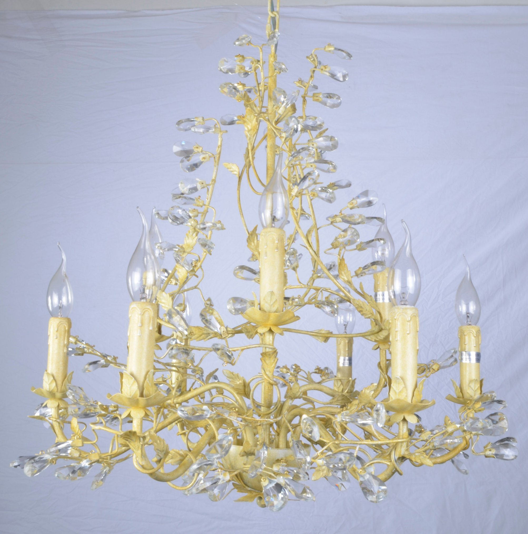 Factory Top Sale Golden Foiled Elegant Chandelier with UL