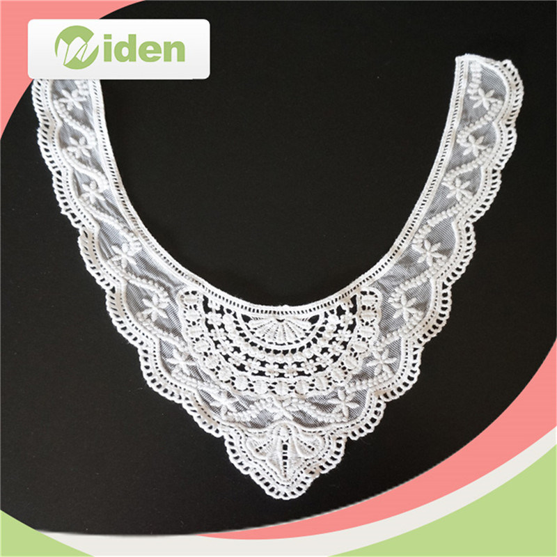 Embroidery Neck Lace Cotton Chemical Collar Lace
