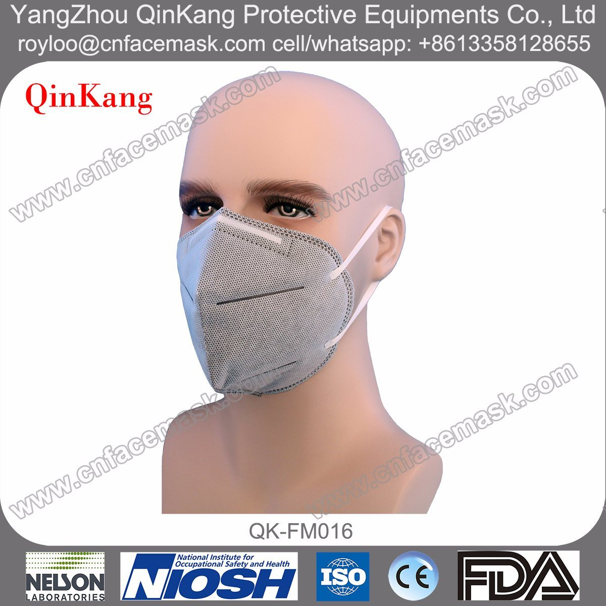 N95 Particulate Respirator Non-Woven Protective Dust Masks