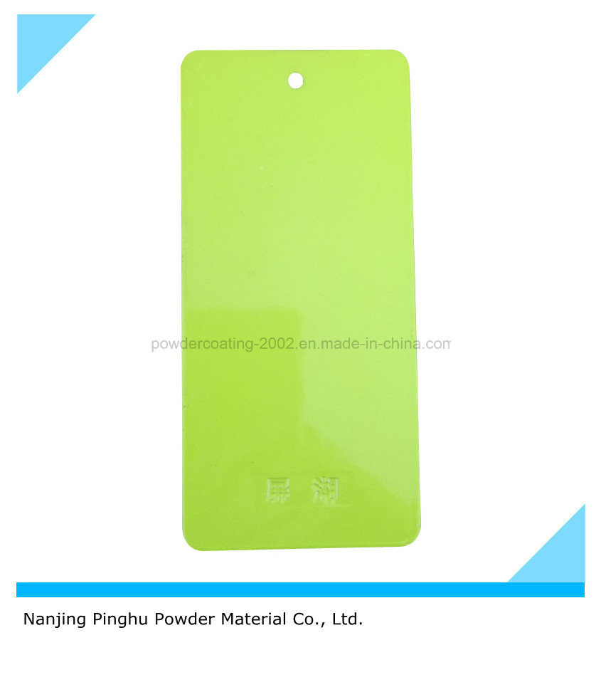 Apple Green Powder Paint with Good Decorative Property