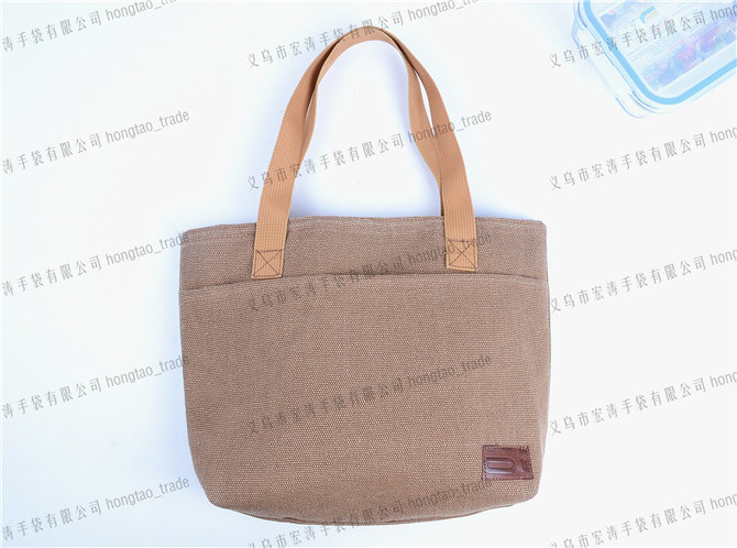 Cotton with PU Emboss Logo Heat Preservation Coolerbag
