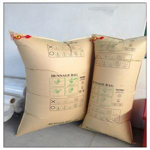 High Quality Brown Kraft Paper Air Cushion Dunnage Air Bag for Container