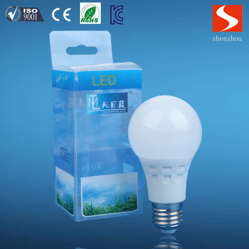 LED Light A60 9W E27 Alum+PBT Bulbs