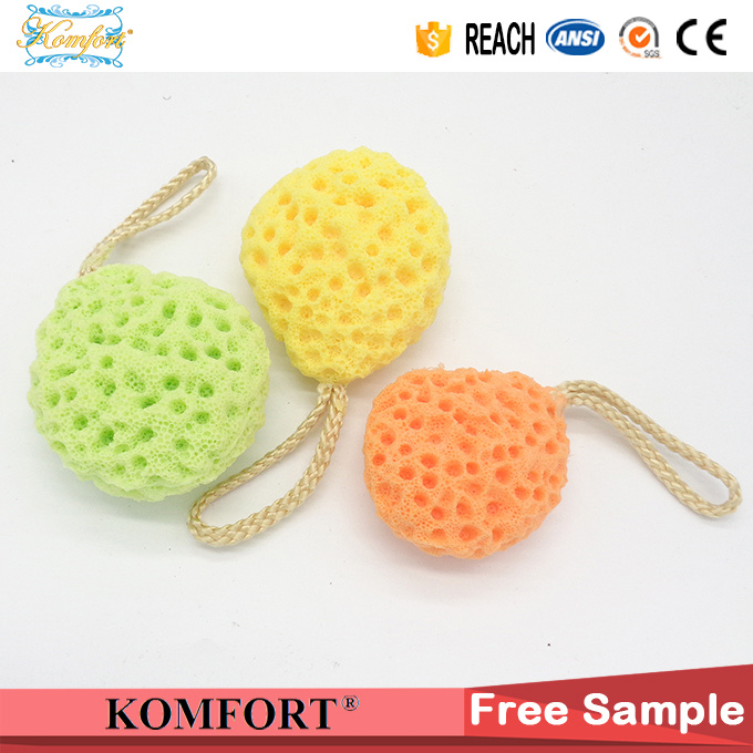 Customized Natural Konjac Bath Soap Mesh Puff Facial Sponge Wholesale