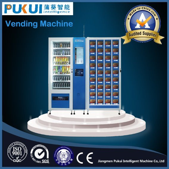 China Manufacture Security Design Smart Vending Machine Signs
