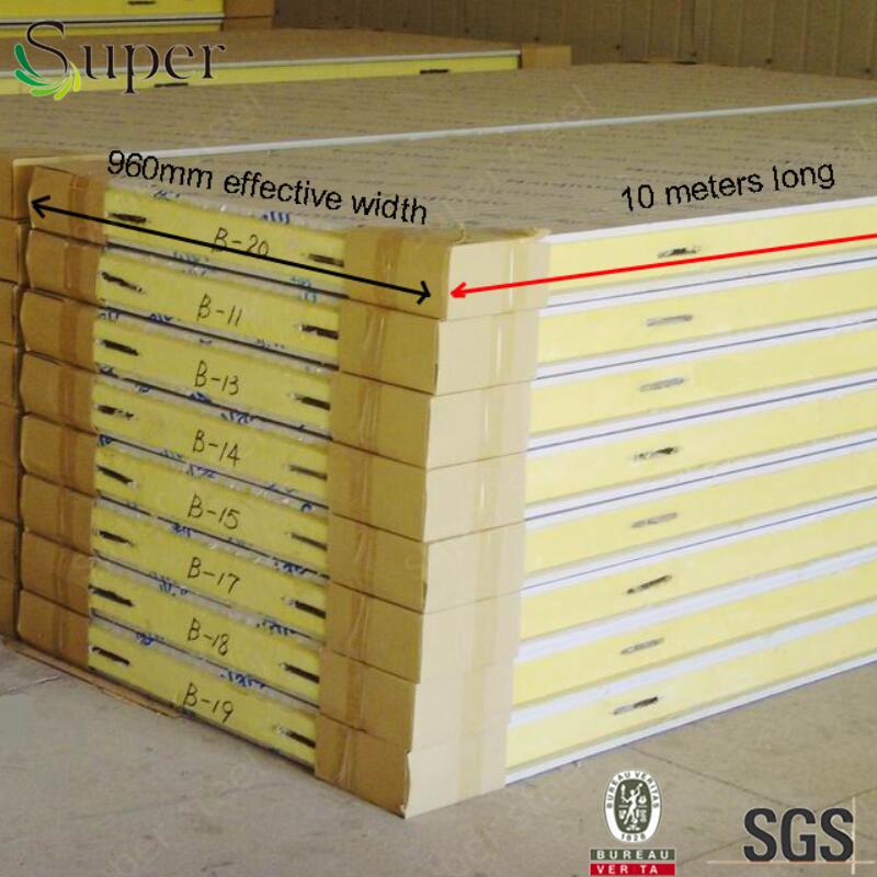 PU Sandwich Panels Polyurethane Sandwich Panels for Cold Room