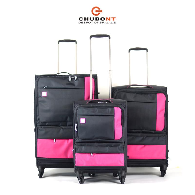 Chubont High Qualilty Fashion Nylon Soft Trolleycase
