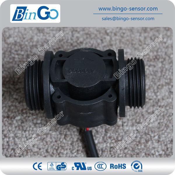 """Bingo G1"""" Brass Magnetic Water Flow Rate Sensor"""