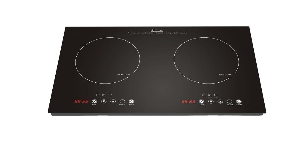 3600W 110 120V ETL Certification 2 Burner Induction Cooker