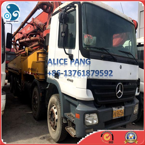 45m Sany Concrete Pump with Mercedes-Benz Truck (37-45m)