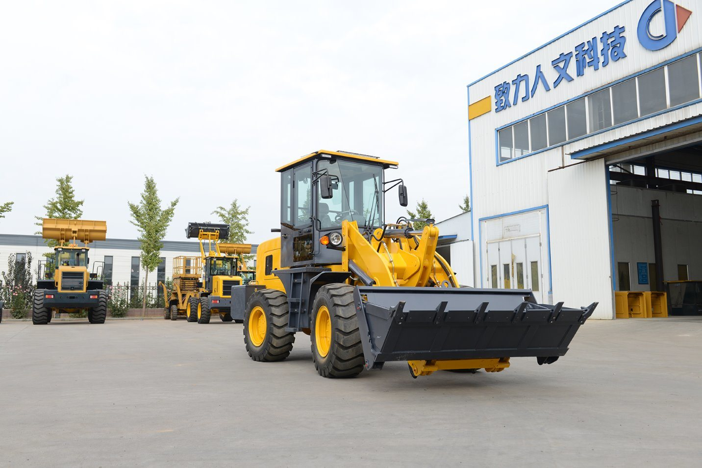 2 Ton Mini Wheel Loader Professional Supplier