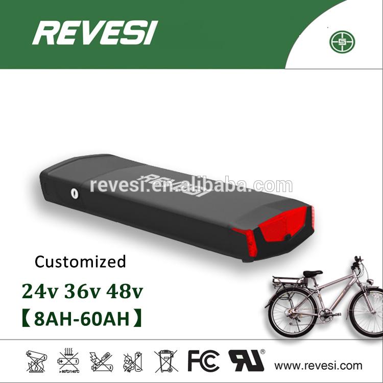 Hot Sell 48V 12ah Rechargeable Ebike Rear Rack Battery Pack