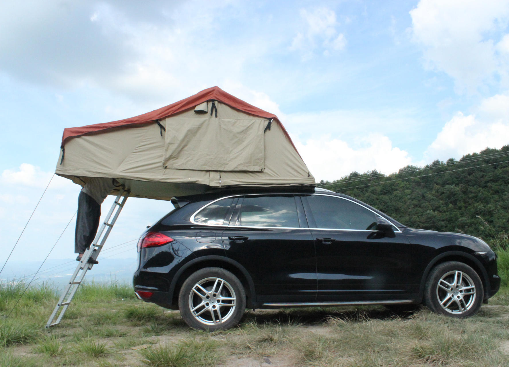 New Camper Trailer Big Size Roof Top Tent for Camping