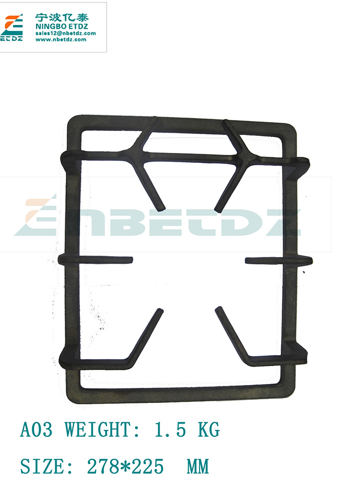 A03 Cast Iron Grate Gas Stove